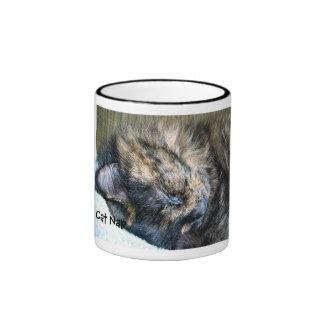 Taza de la siesta del gato