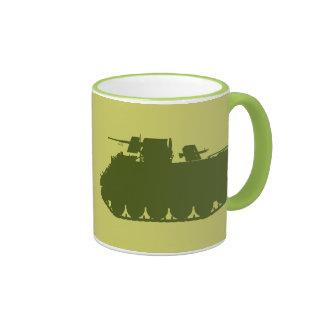 Taza de la silueta de M113 ACAV APC