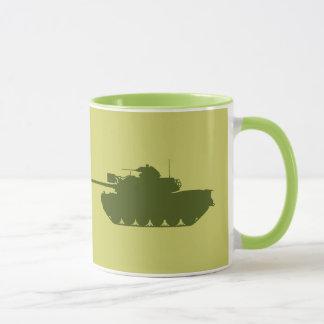 Taza de la silueta de M48A3 Patton