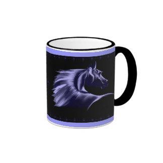 Taza de la silueta del caballo