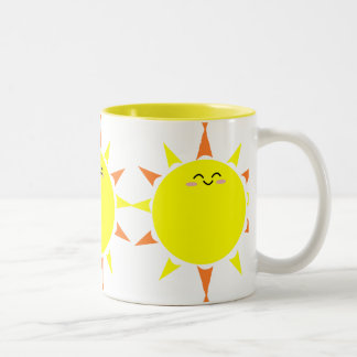 Taza de la sol de la mañana
