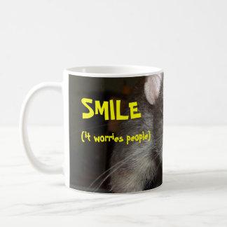 taza de la sonrisa
