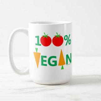 Taza de la sopa de verduras del vegano para los