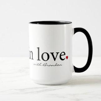 Taza de la tarjeta del día de San Valentín, regalo