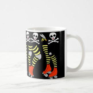 Taza de la taza de café de Derby del rodillo