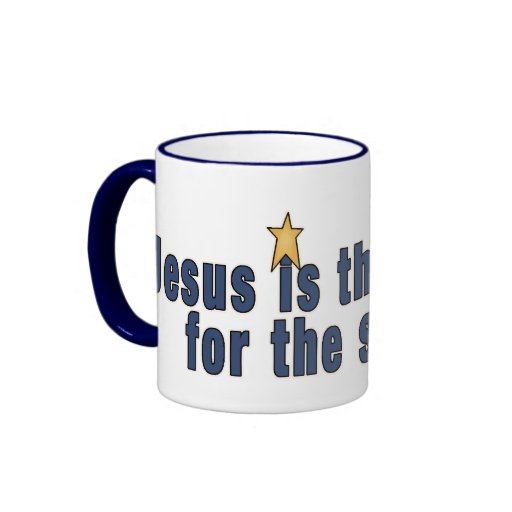 Taza de la taza de café de la estrella de Jesús de