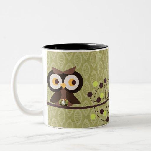 Taza de la taza de café de la noche del pitido del