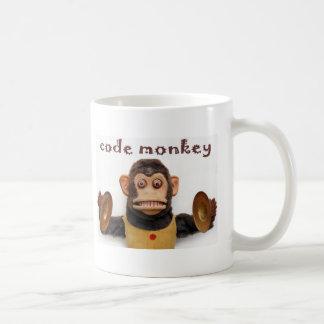 Taza de la taza de café del mono del código de Pro