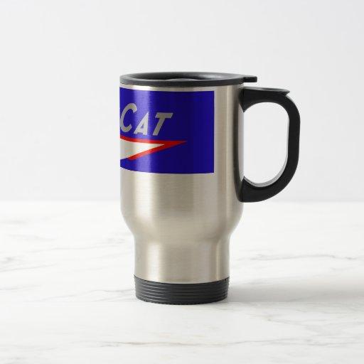 Taza de la taza de café del viaje del logotipo de