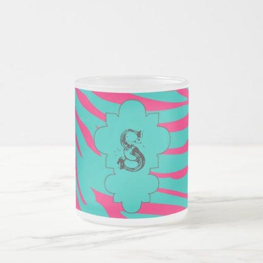 Taza de la taza de café del vidrio esmerilado de l