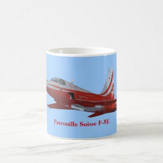 Taza de la taza de Patrouille Suisse F-5
