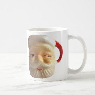 Taza de la taza de Santa del vintage (guiño)