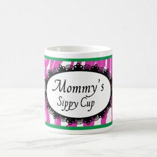 Taza de la taza de Sippy de la mamá