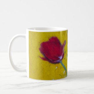 Taza de la taza del ~ de los diarios de la flor