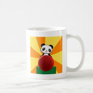 Taza de la taza del oso de la panda de los niños p
