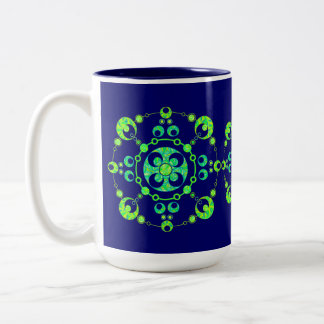 Taza de la taza del té del café del círculo de la