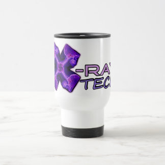 Taza de la tecnología de la radiografía púrpura F
