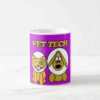 taza de la tecnología del veterinario por