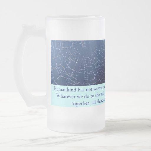 taza de la tela