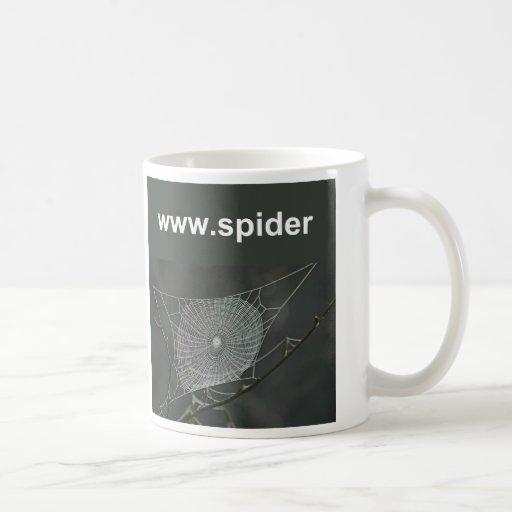 Taza de la tela de araña