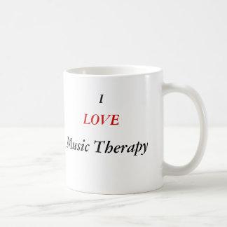 Taza de la terapia de música
