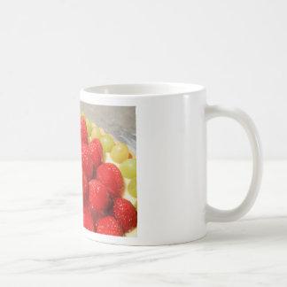 Taza de la torta de la fruta