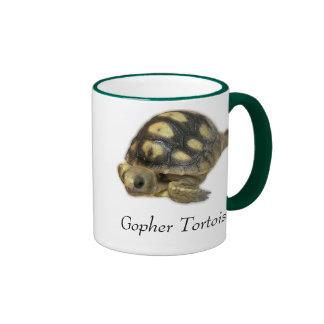 Taza de la tortuga de Gopher