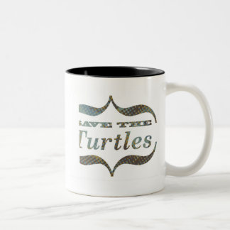 Taza de la tortuga de mar
