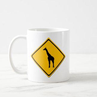 Taza de la travesía de la jirafa