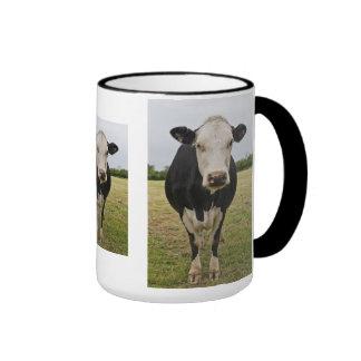 Taza de la vaca de Fresian