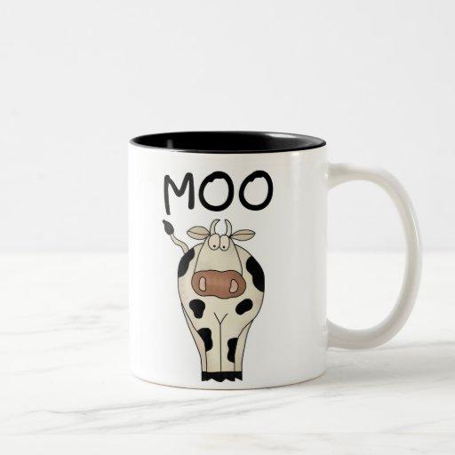Taza de la vaca del MOO