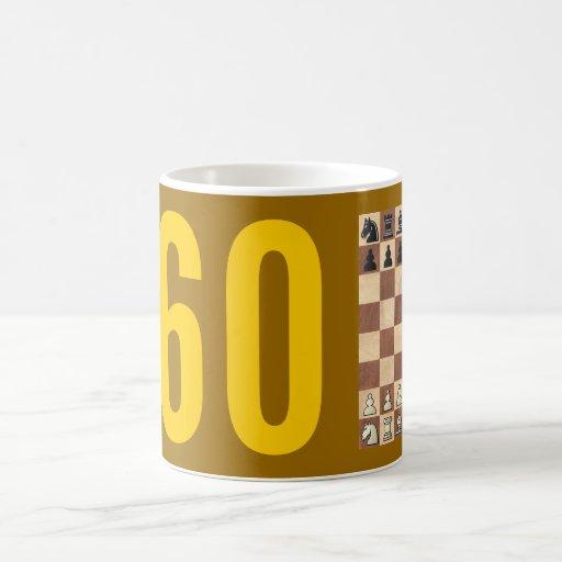 Taza de la variante del ajedrez 960
