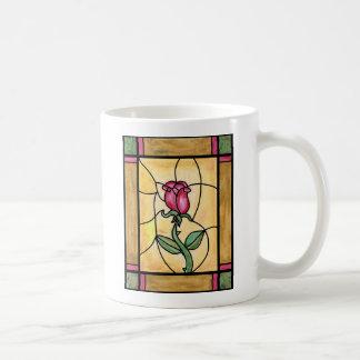 Taza de la ventana color de rosa