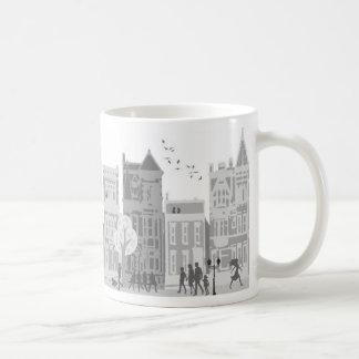 taza de la vida de ciudad