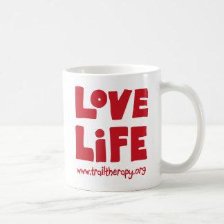 Taza de la vida del amor