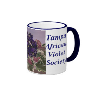Taza de la violeta africana