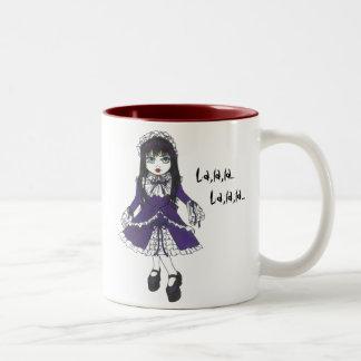 Taza de la violeta de la hermana
