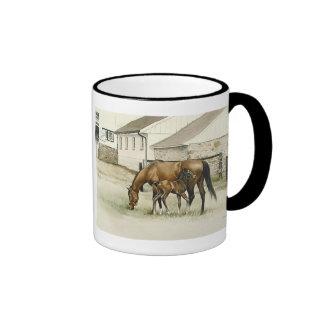 Taza de la yegua y del potro