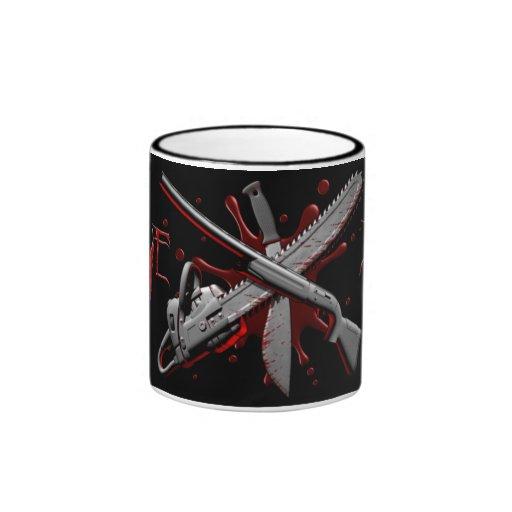 Taza de la zombi-Prueba (negro)