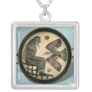Taza de Laconian que representa Zeus y el águila Pendientes