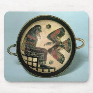 Taza de Laconian que representa Zeus y el águila Alfombrilla De Ratones