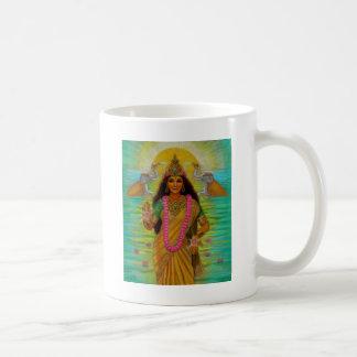 Taza de Lakshmi de la diosa