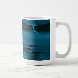 Taza de las aguas azules