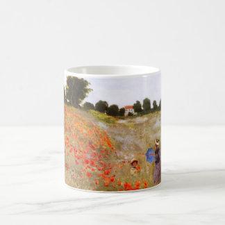 Taza de las amapolas de Monet
