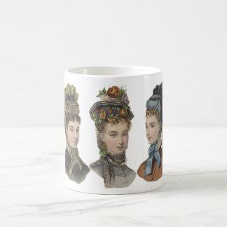 Taza de las bellezas del Victorian