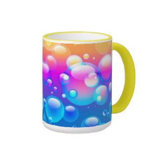 Taza de las burbujas que sopla