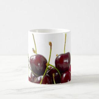 Taza de las cerezas negras