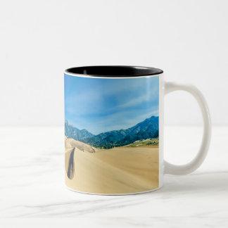 Taza de las dunas de arena