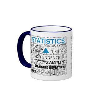 Taza de las estadísticas