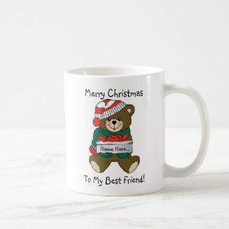 """Taza """"de las Felices Navidad"""""""